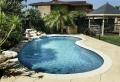 49 modèles- piscine creusée en forme de rein
