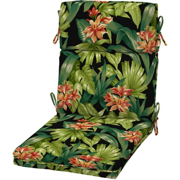 coussin-de-chaise-pour-le-jardin-vert