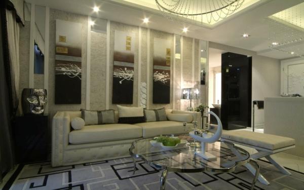 décoration-du-salon-table-basse-élégant-design