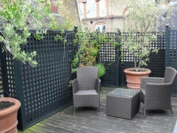 La d coration de toit terrasse des id es cr atives en for Cloison exterieure jardin