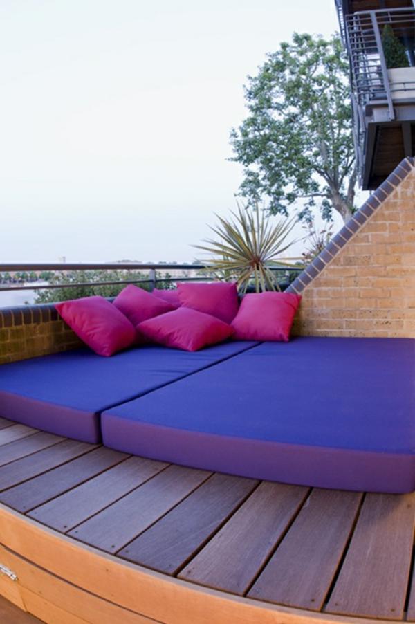 décoration-toit-terrasse-idee-matelas