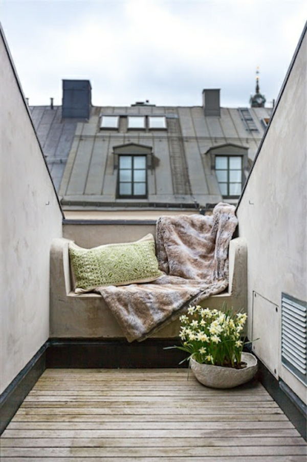 La d coration de toit terrasse des id es cr atives en photos inspirantes - Idee d amenagement de terrasse ...