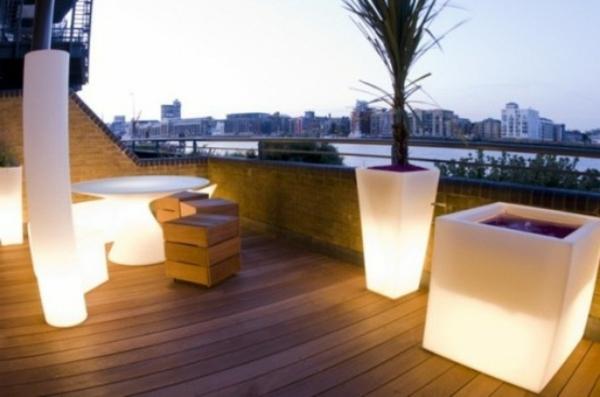 décoration-toit-terrasse-lumiers