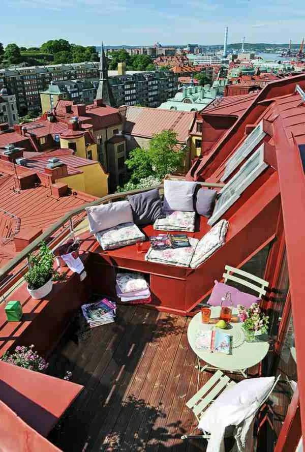 décoration-toit-terrasse-rouge-ambiance