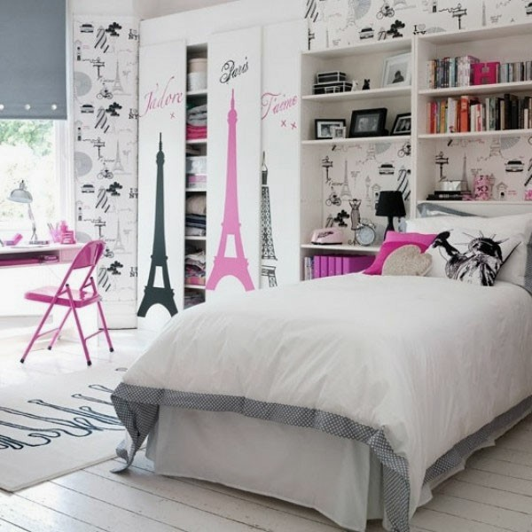 la d 233 co chambre ado fille esth 233 tique et amusante best 20 paris themed bedrooms ideas on pinterest paris