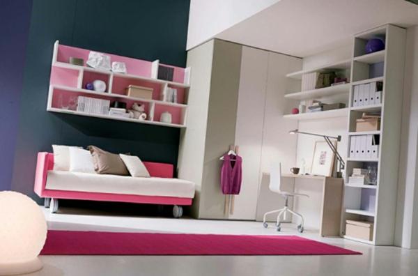 La d co chambre ado fille esth tique et amusante - Canape pour chambre ado ...