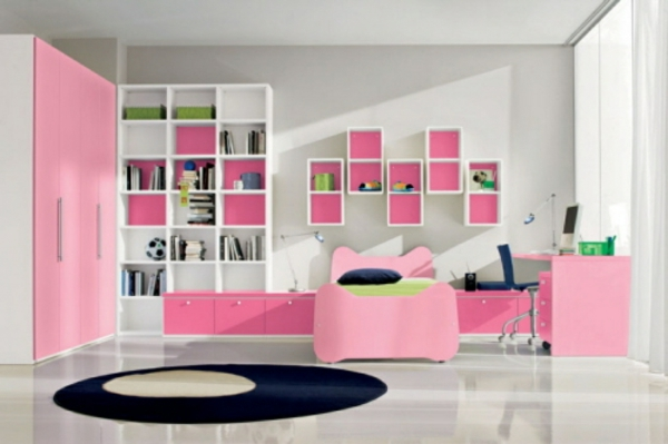 la d co chambre ado fille esth tique et amusante. Black Bedroom Furniture Sets. Home Design Ideas