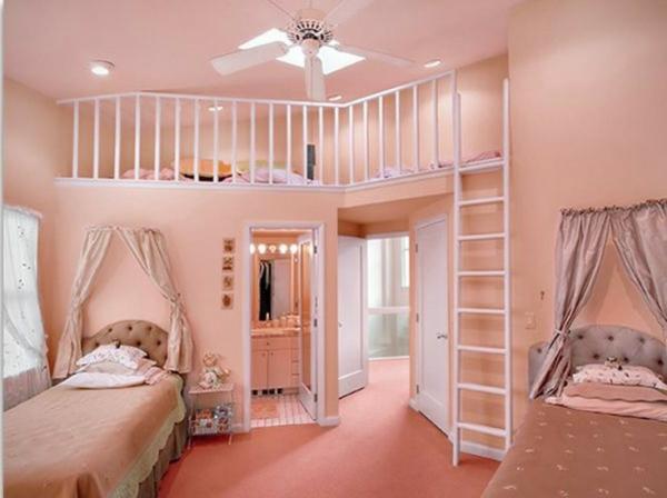 La d co chambre ado fille esth tique et amusante for Chambre ado fille rose et noir