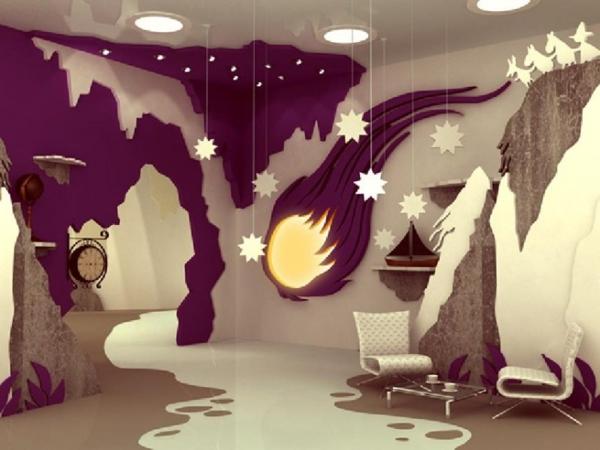 La d co chambre enfant douce et amusante for Deco design chambre fille