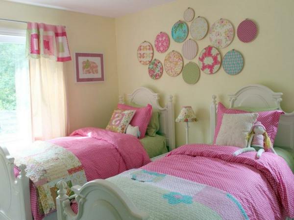 La d co chambre enfant douce et amusante for Deco chambre deux enfants