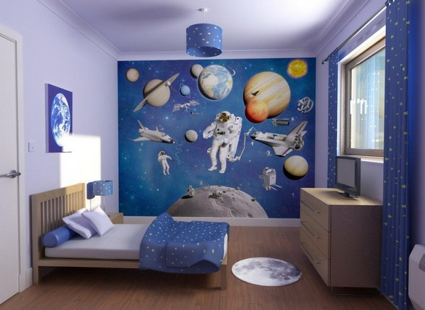 La déco chambre enfant  douce et amusante