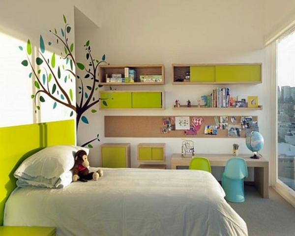 deco murale chambre enfant maison design. Black Bedroom Furniture Sets. Home Design Ideas