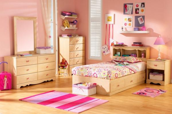 deco-chambre-enfant-murs-roses