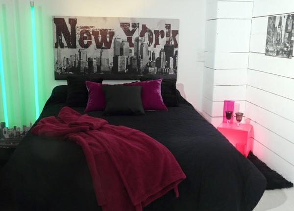 La d co chambre new york ado cr ative et amusante - Chambre new york ...