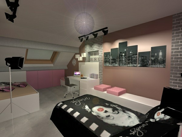 la d co chambre new york ado cr ative et amusante. Black Bedroom Furniture Sets. Home Design Ideas