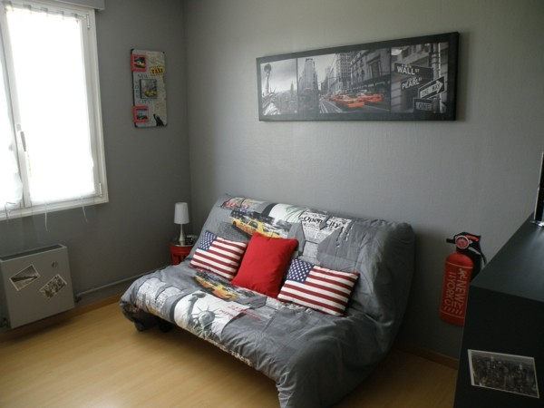 La d co chambre new york ado cr ative et amusante for Chambre ado fille new york