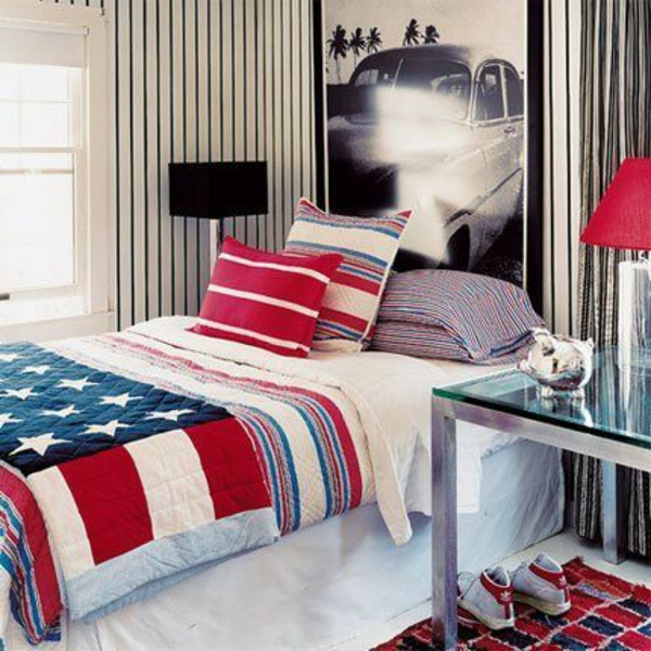 Photo chambre ado fille new york id e for Chambre design new york