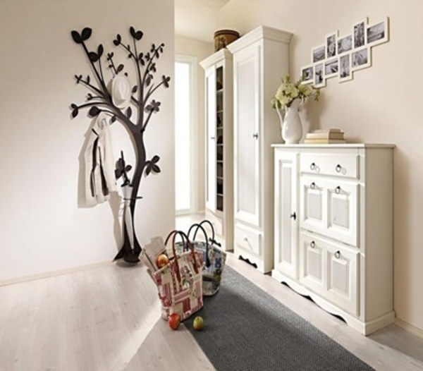 ordinary porte manteau mural arbre 14 deco couloir joli. Black Bedroom Furniture Sets. Home Design Ideas