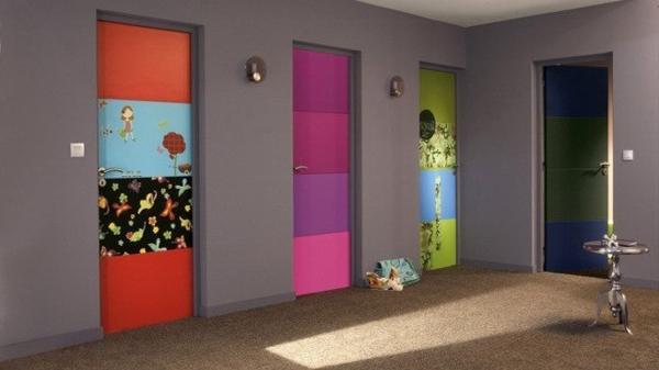 La d co couloir des astuces pour une ambiance agr able for Decoration sur porte interieur