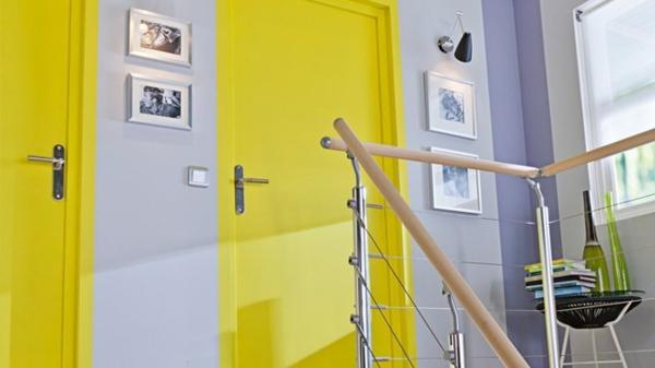 La d co couloir des astuces pour une ambiance agr able - Quelle couleur peindre les portes ...