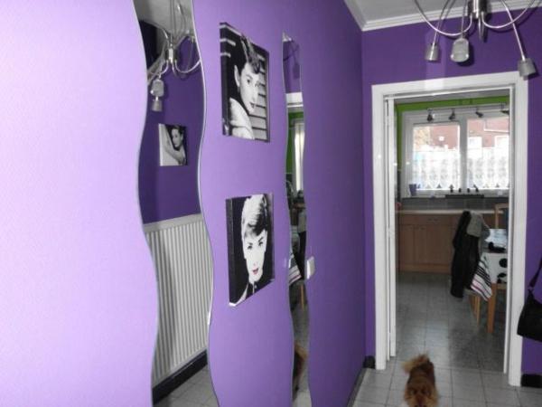La d co couloir des astuces pour une ambiance agr able - Deco peinture entree couloir ...