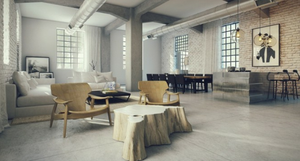 D co industriel et loft - Deco loft industriele ...