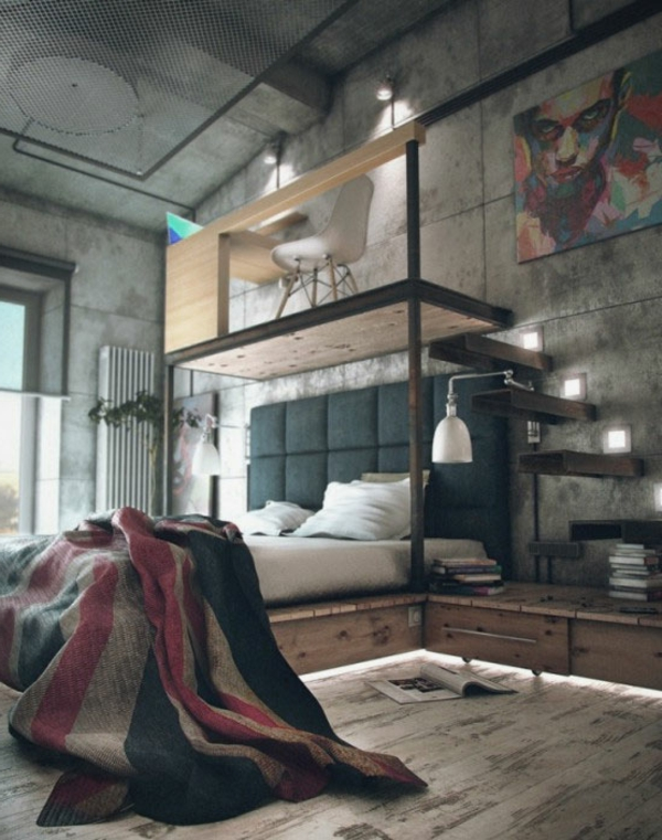 la d co loft industriel tendance et esth tisme. Black Bedroom Furniture Sets. Home Design Ideas