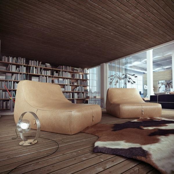 deco-loft-industriel-bois-et-cuir