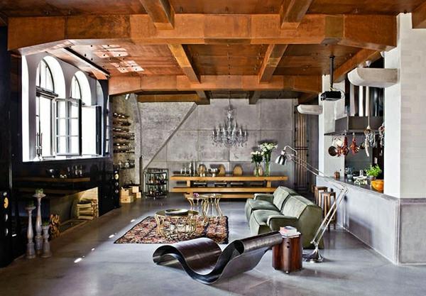 la d co loft industriel tendance et esth tisme. Black Bedroom Furniture Sets. Home Design Ideas