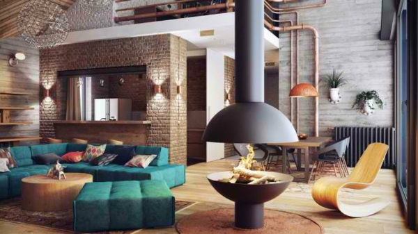 deco-loft-industriel-cheminee