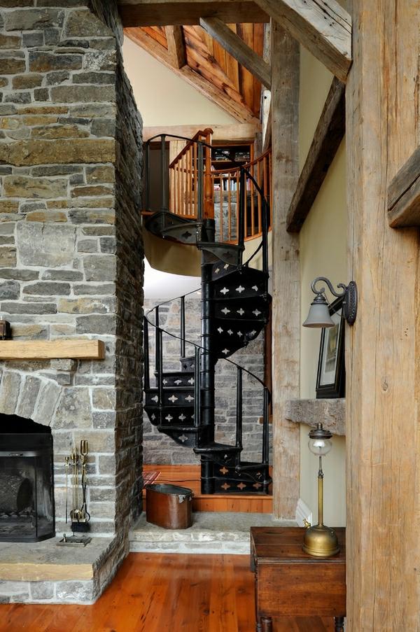 escalier-de-fer-forgé