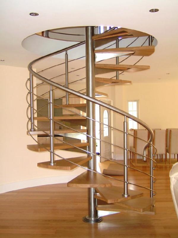 escalier-en-colimacon-chrome-bronze-metal