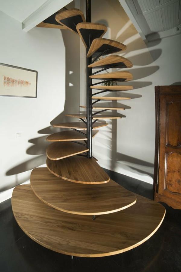 Un escalier en colima on des id es pour relooker votre int rieur - Escaliers en colimacon ...