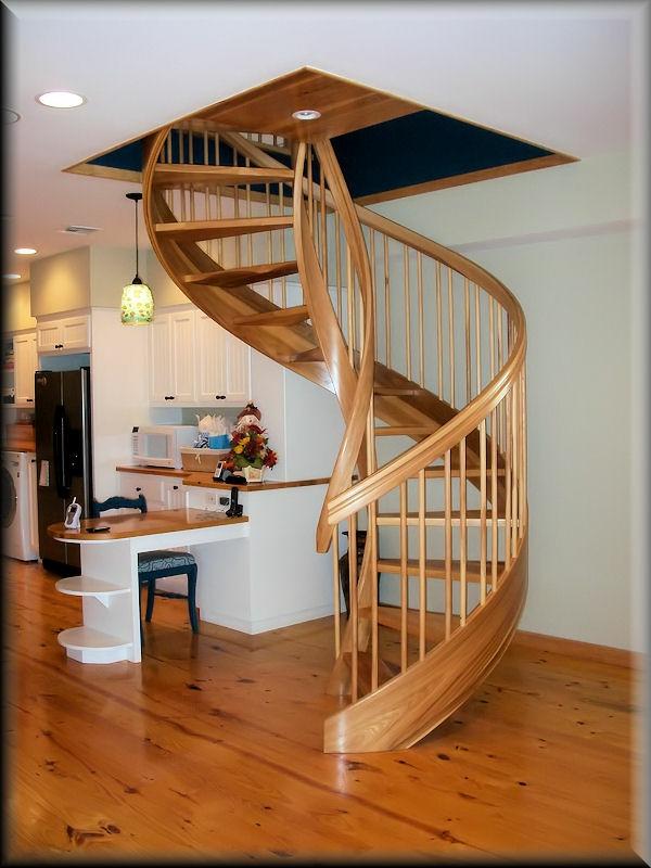 escalier-en-colimacon-unique