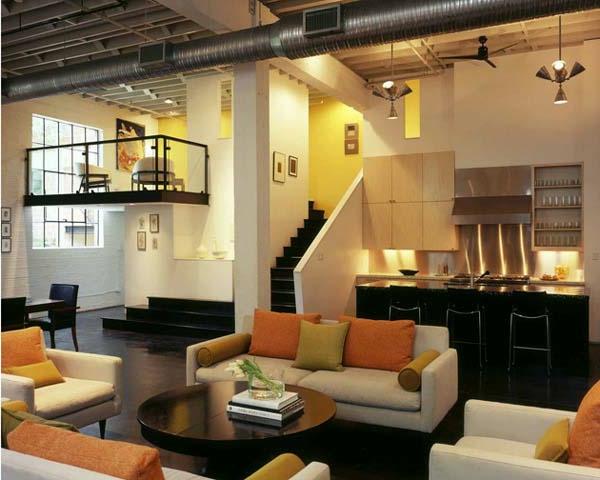 L 39 esprit loft dans le design moderne est un m lange de for Loft et appartement