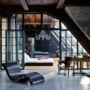L' esprit loft dans le design moderne est un mélange de beauté et d'extravagance