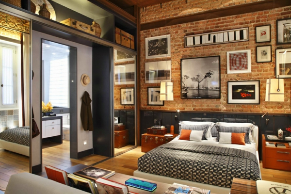 l 39 esprit loft dans le design moderne est un m lange de beaut et d 39 extravagance. Black Bedroom Furniture Sets. Home Design Ideas