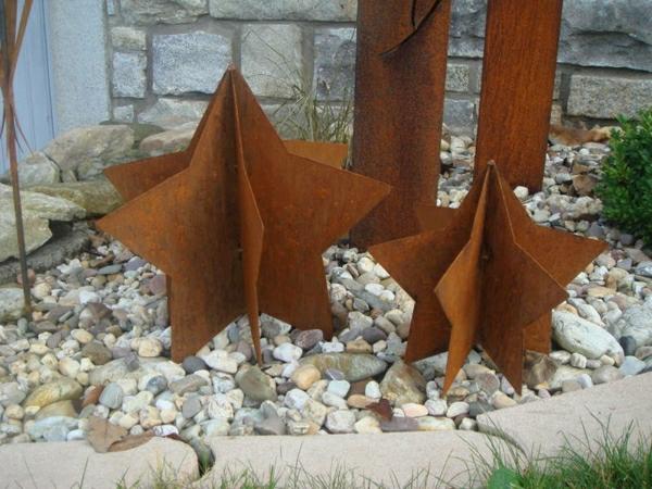 etoiles-rouille-decoration-jardin