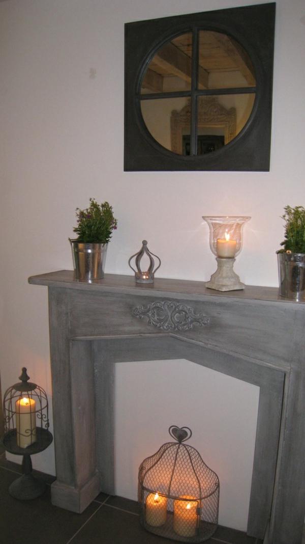 la fausse chemin e cr era des moments inoubliables pendant les f tes de no l. Black Bedroom Furniture Sets. Home Design Ideas