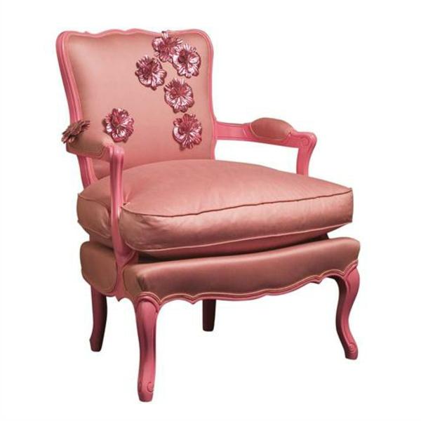 fauteuil-roche-bobois-design-rose