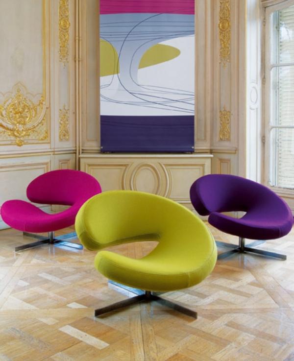 fauteuil-roche-bobois-trois-fauteuils-originaux