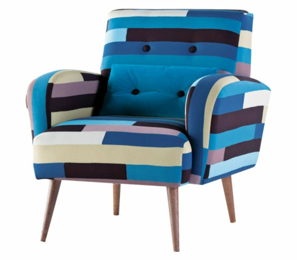 fauteuil-roche-bobois-bleu