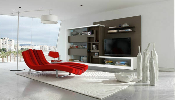 meuble tv blanc roche bobois – Artzein.com