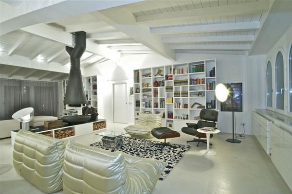 idée-déco-de-salon-moderne-des-éléments-extravagants