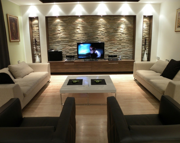 Une id e d co de salon moderne est une inspiration pour l for Style de salon moderne