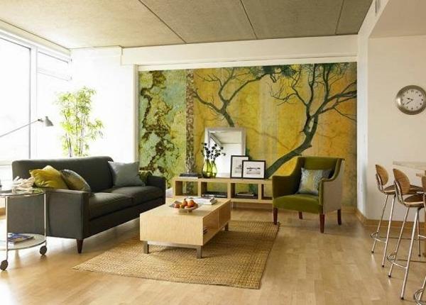 idée-déco-de-salon-moderne-en-vert