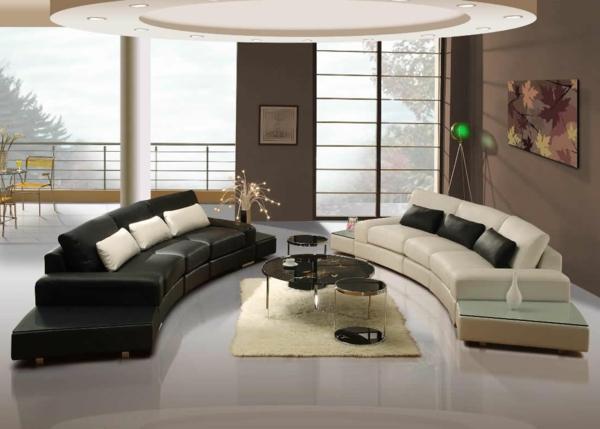 Une idée déco de salon moderne est une inspiration pour l