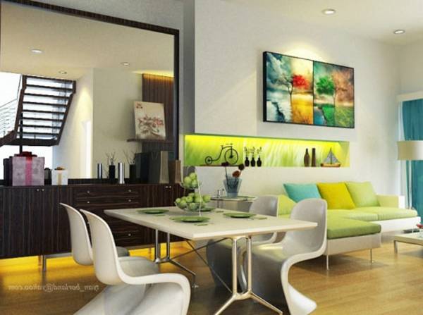 Idee deco salle a manger design id e for Salle a manger idee