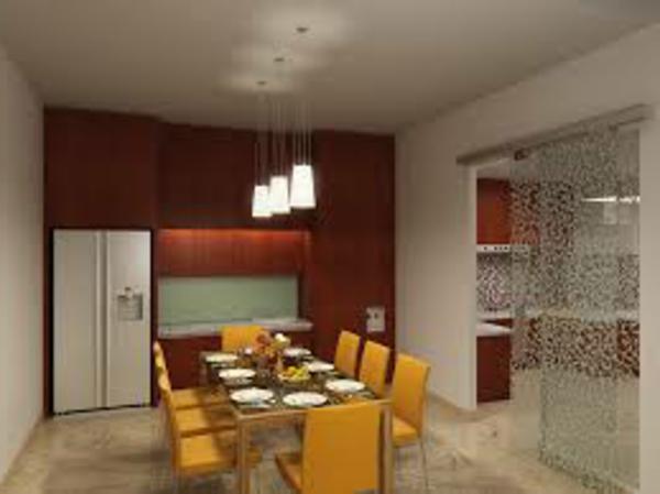 idee-deco-salle-a-manger-chaises-jaunes
