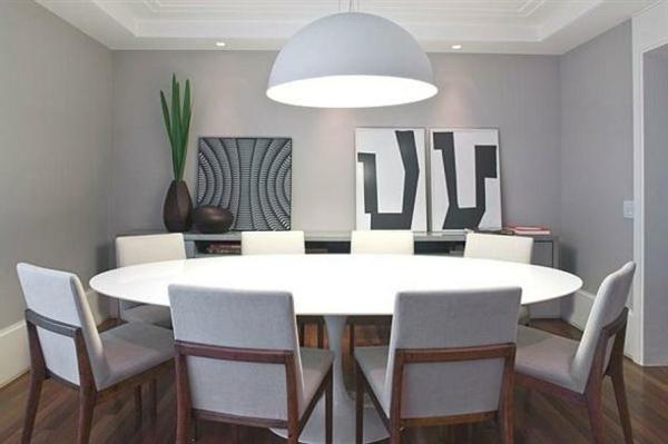 Avoir une id e d co salle manger pas si difficile la for Grande table ronde salle a manger